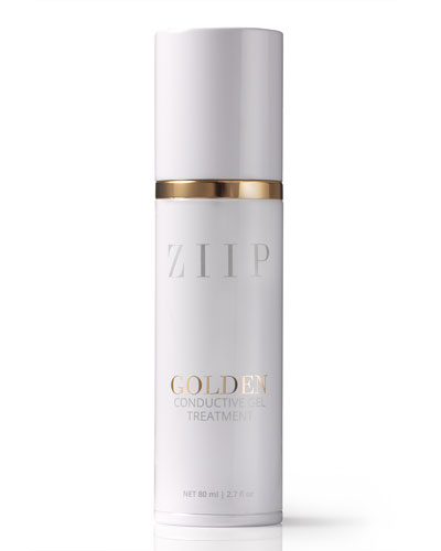 ZIIP Beauty Golden Conductive Gel  2.7 oz./ 80 mL