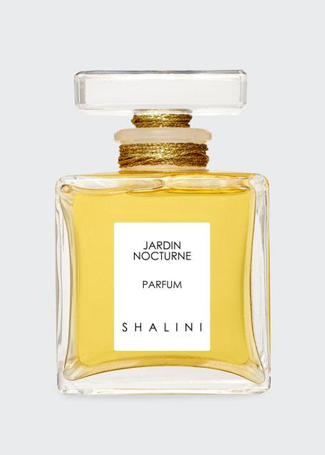 Shalini Jardin Nocturne Cubique Glass Bottle with Glass
