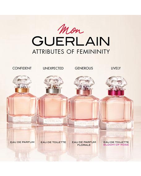 Mon Guerlain Bloom of Rose Eau de Toilette Spray, 3.4 oz./ 100 mL