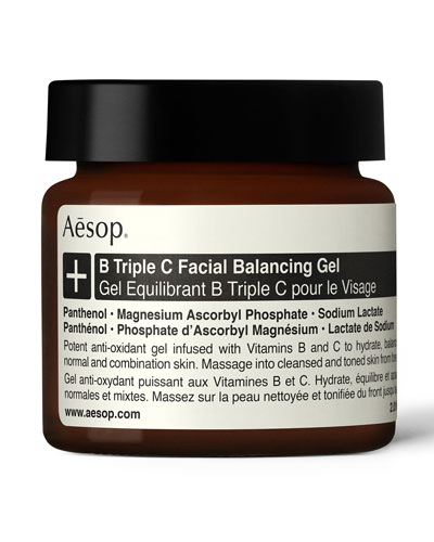 B Triple C Facial Balancing Gel  2 oz./ 60 mL