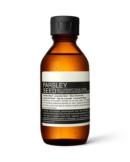 Parsley Seed Anti-Oxidant Facial Toner, 3.4 oz./ 100 mL