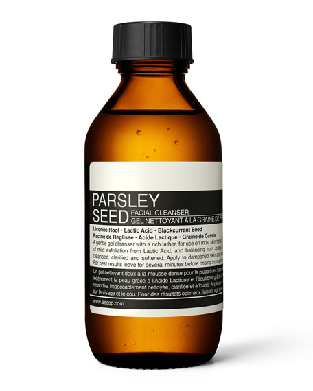 Parsley Seed Face Cleanser, 3.4 oz./ 100 mL