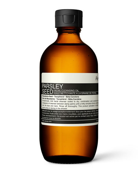 Parsley Seed Facial Cleansing Oil, 6.7 oz./ 200 mL