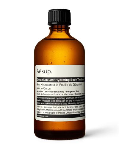 Geranium Leaf Hydrating Body Treatment  3.4 oz./ 100 mL