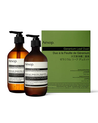 Geranium Leaf Body Care Kit (Duet)