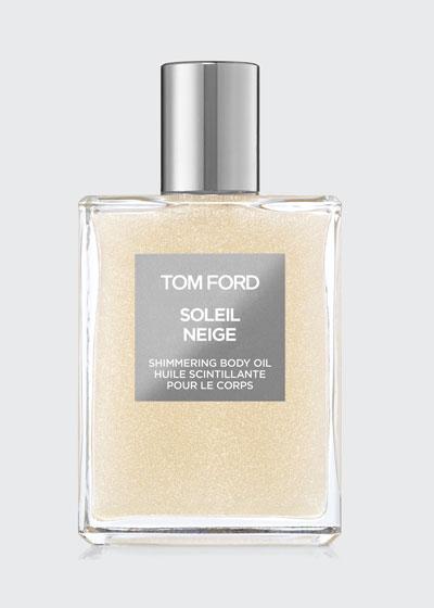 Soleil Neige Shimmering Body Oil, 3.4 oz./ 100 mL