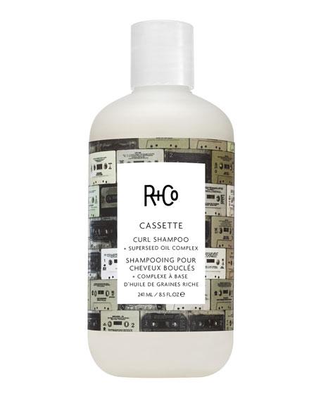 Cassette Curl Shampoo + Superseed Oil Complex, 8.5 oz./ 251 mL