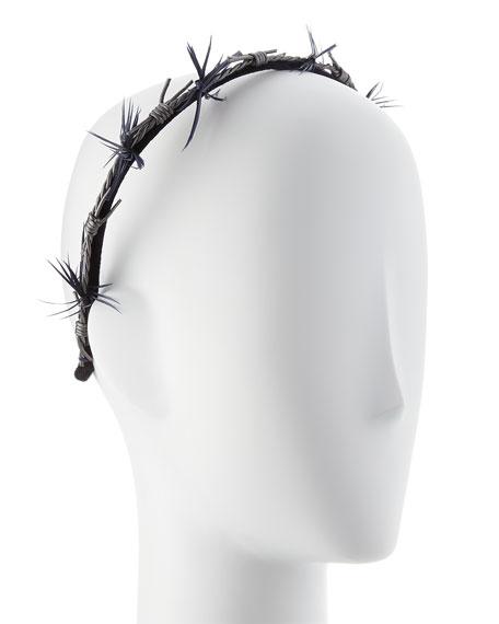 Barbed Wire Velvet Headband