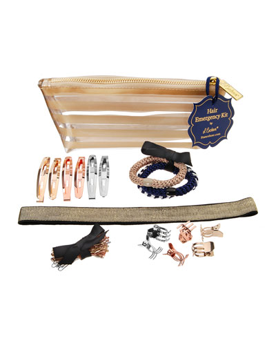 Hair Styling Emergency Kit  Gold Stripes