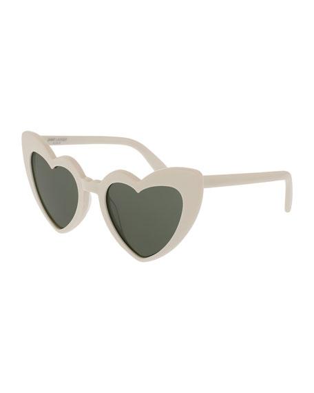 Lou Lou Oversized Heart Sunglasses