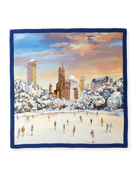 Central Park Cashmere/Silk Scarf