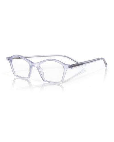 Firecracker Square Acetate Reading Glasses