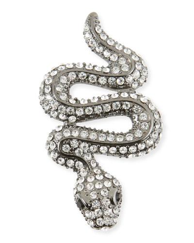 Crystal Snake Pin