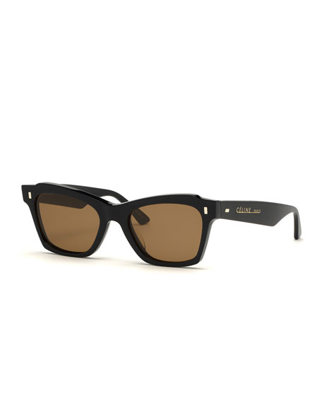 Image 1 of 1: Square Acetate Sunglasses