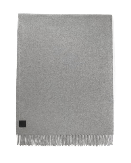 Merino Wool Fringe Scarf