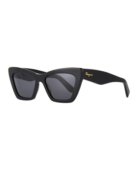 Image 1 of 1: Acetate Cat-Eye Sunglasses