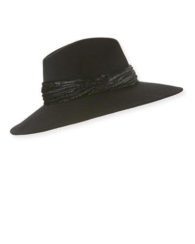 Emmanuelle Wool Fedora Hat