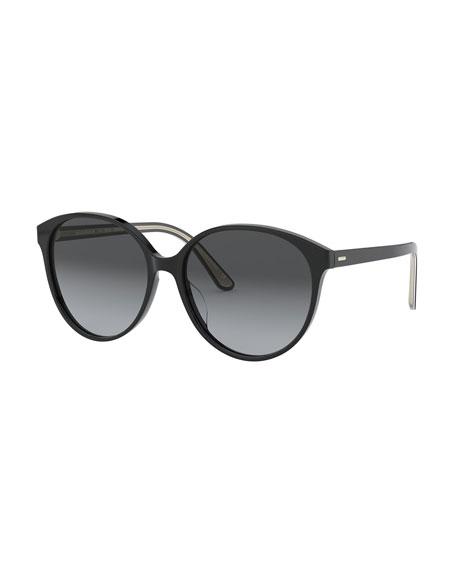 Brooktree Polarized Oval Sunglasses