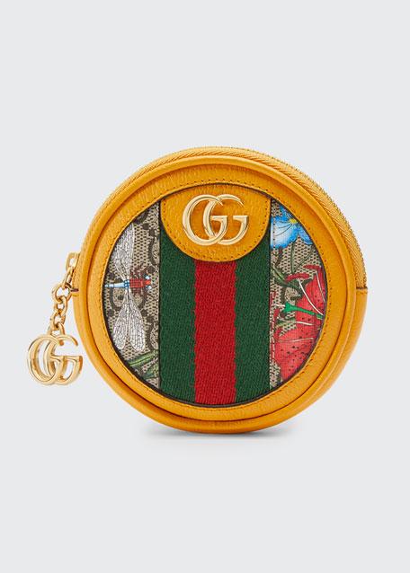 Ophidia GG Flora Coin Purse