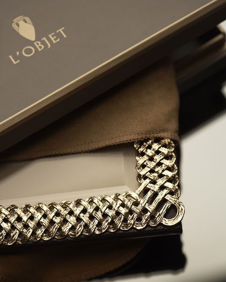 """Gold Braid 4"""" x 6"""" Picture Frame"""