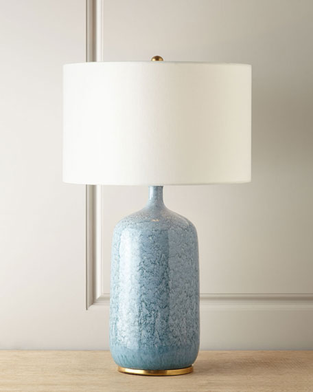 Aerin Culloden Blue Lagoon Table Lamp