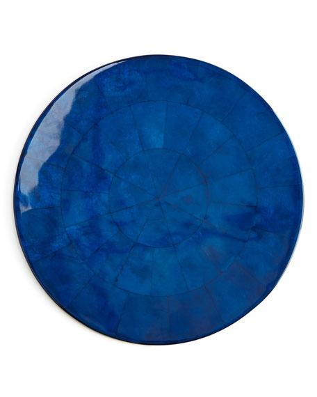 Cobalt Capiz Placemat