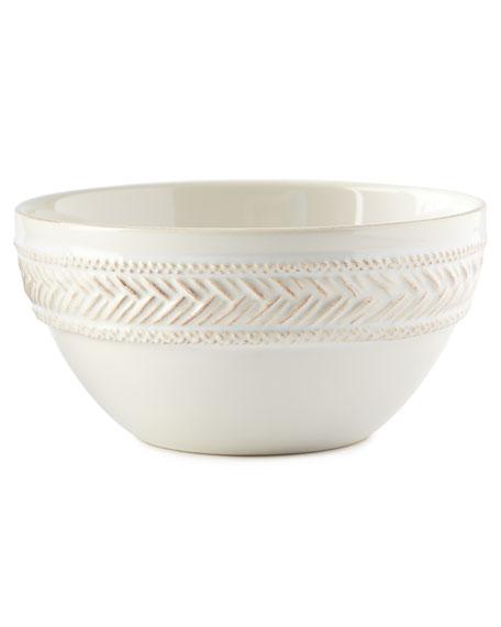Le Panier Whitewash Cereal/Ice Cream Bowl
