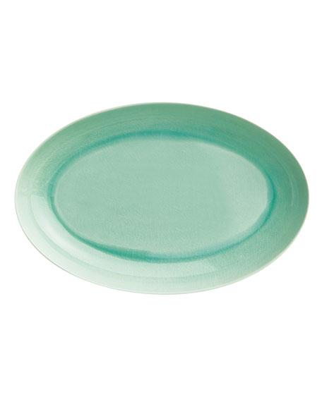 Seaglass Crackle Platter