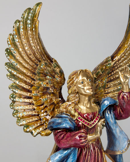 Rejoicing Angel Figurine