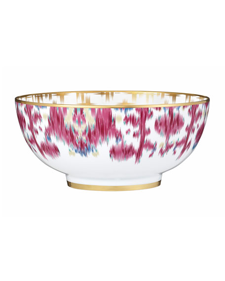 Voyage en Ikat Large Salad Bowl