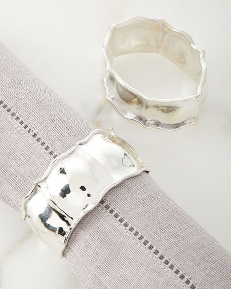 Image 1 of 1: Sterling Silver Napkin Rings