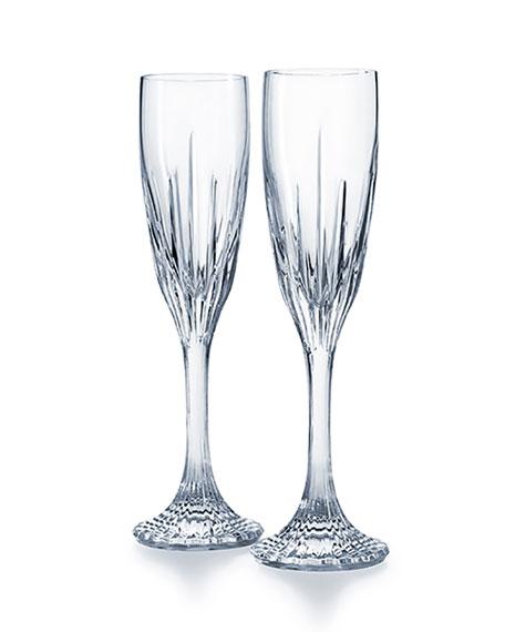 Jupiter Champagne Flutes, Set of 2