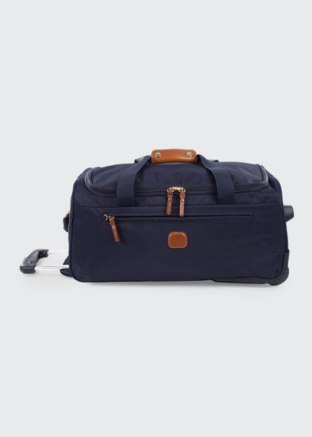 """Navy X-Bag 21"""" Carry-On Rolling Duffel Luggage"""