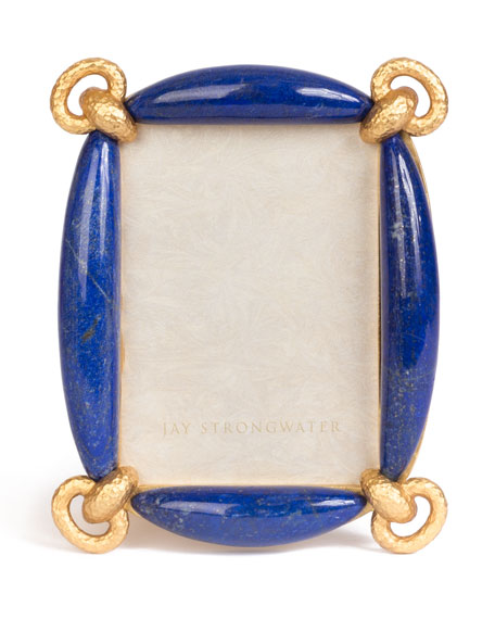 "Image 1 of 1: Gloria Lapis Picture Frame, 3"" x 5"""