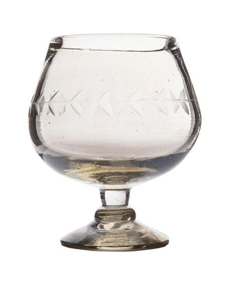 Lustre Brandy Goblet