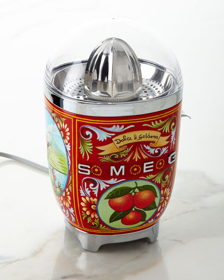 Image 1 of 1: Dolce Gabbana x SMEG Sicily Is My Love Juicer