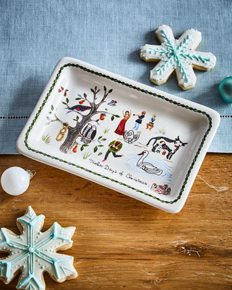 Juliska Twelve Days of Christmas Trinket Tray