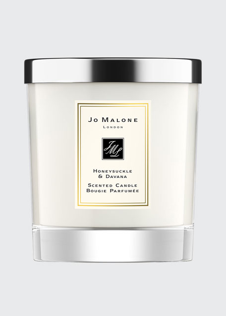 Honeysuckle & Davana Scented Home Candle