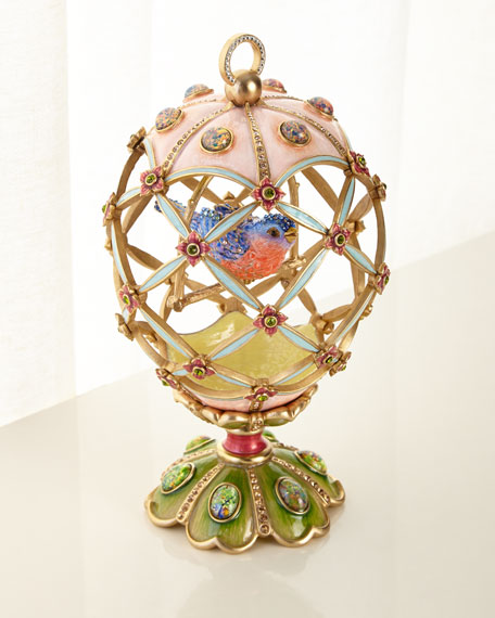 Bird Cage Egg Objet