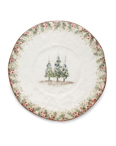 Natale Round Platter