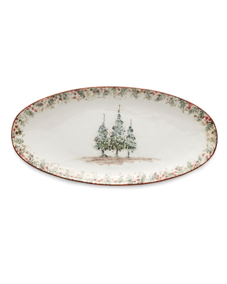 Image 1 of 1: Natale Long Oval Platter