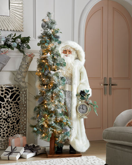 Crystals for Christmas Santa