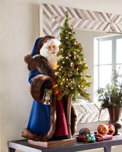 Holiday Spirit Tabletop Santa