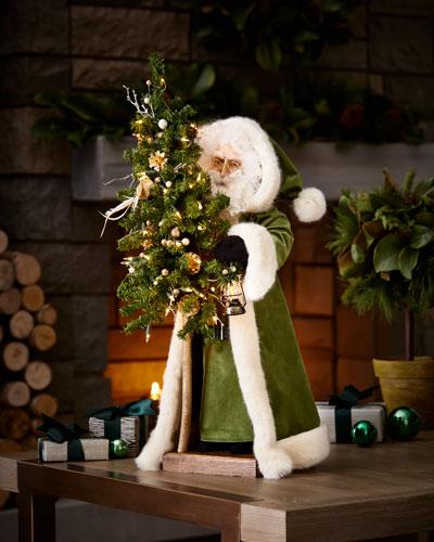 Holy Night Tabletop Santa