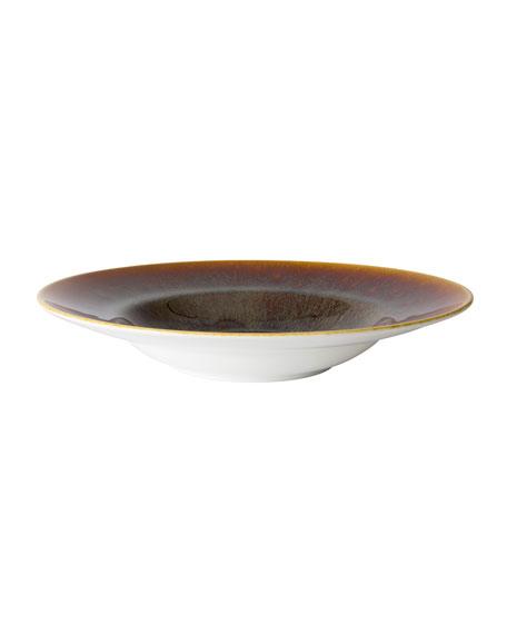 Art Glaze Rim Soup Bowl