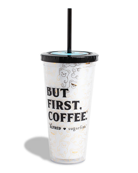 x Alfred But First, Coffee Tumbler