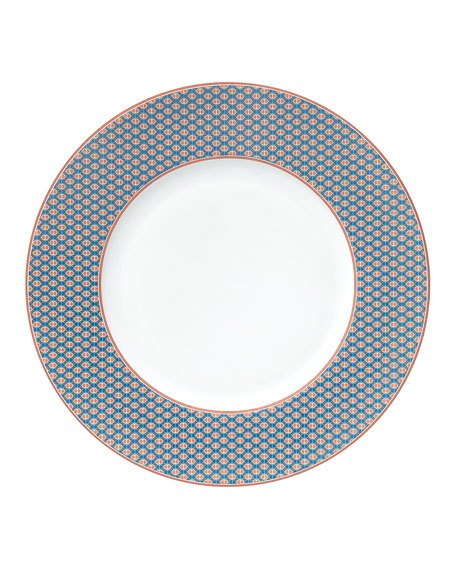 Tie Set Dinner Plate - Maillons Vagues