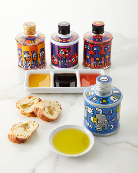 Image 1 of 1: Carlo Volpi and Galateo and Friends Food For Fashion Capsule Collection 4-Piece Gift Set
