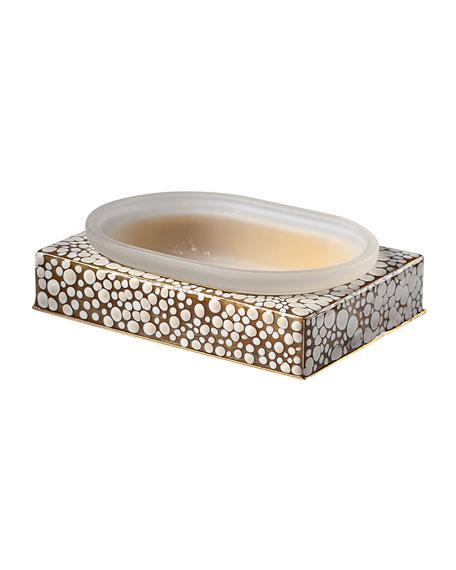 Prosecco Square Soap Dish