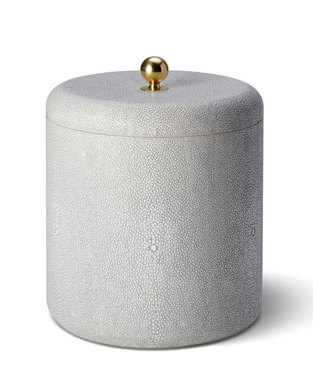 Shagreen Ice Bucket